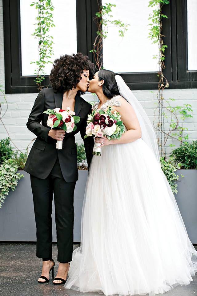 Elixhermagazine: This Beautiful QWOC Wedding.