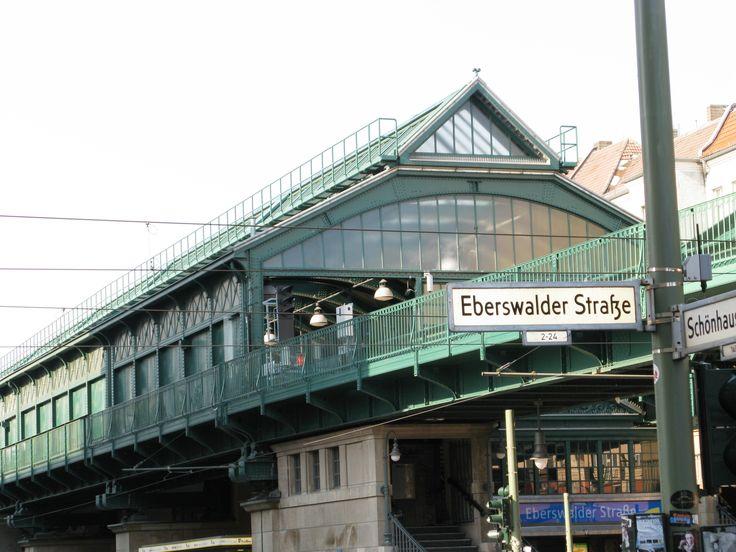 Eberswalder Strasse U-Bahn Station, Prenzlauer Berg, Berlin, Germany    - Arch Style arhitecture