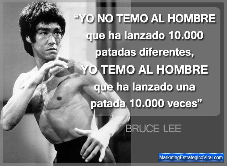 Frases Célebres de Bruce Lee