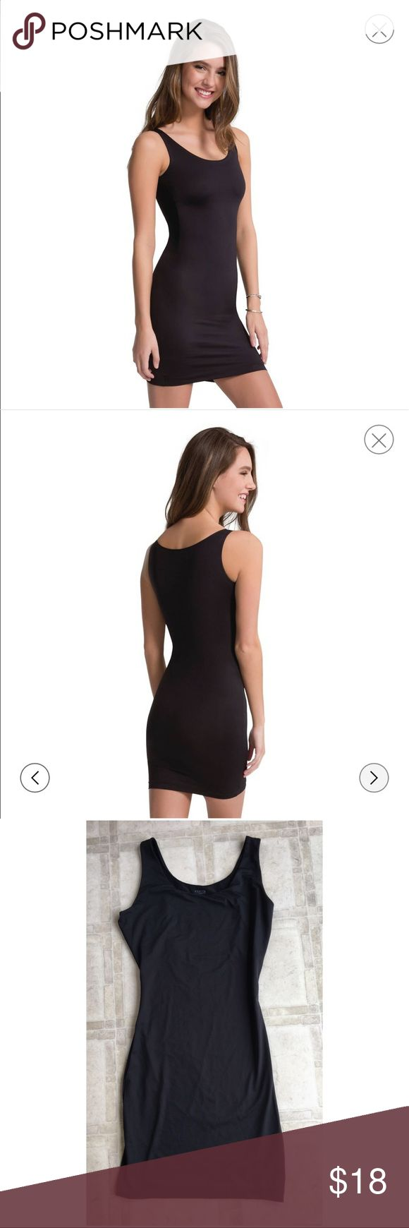 Assets by Spanx Women In or Out Shaping Full Slip New without tags.  This double-duty slip can be worn inside or out! With an inner power-mesh that firms in all the right places • Inner front power mesh slims the tummy, hips and thighs • Slick fabric won't cling to clothes! • Wider straps keeps bra completely hidden • Wear as a layering piece or to be seen • Body & Lining: 82% Nylon, 18% Spandex/Elastane. Bust Lining: 90% Nylon, 10% Spandex/Elastane Closure Style: Pullover, Care and…