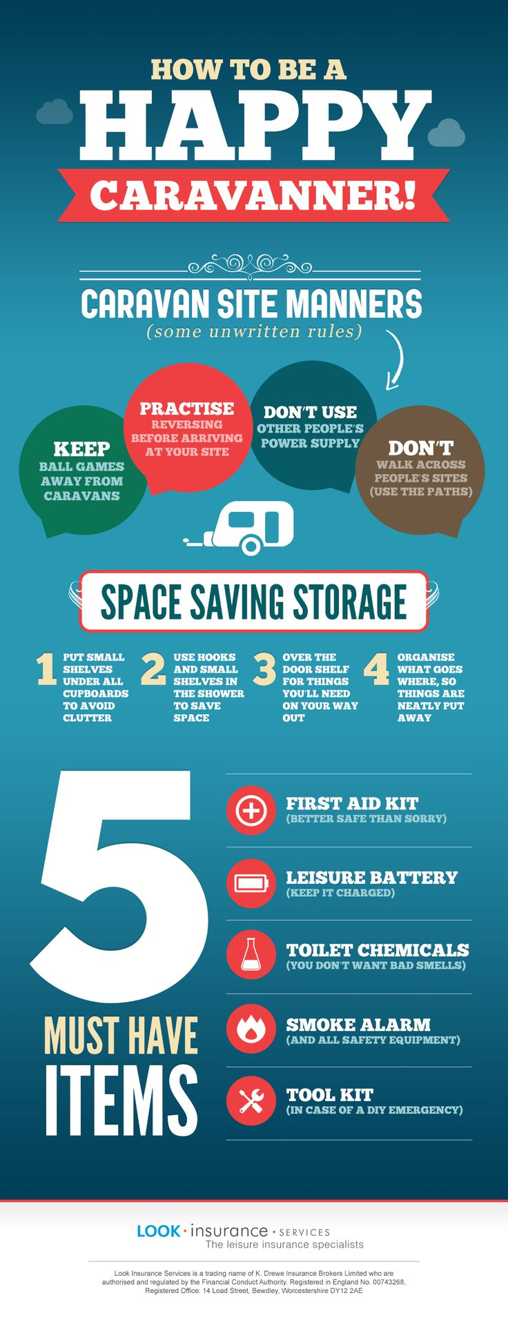 Happy Caravanner Infographic if you love caravan holidays you will love this caravan infographic