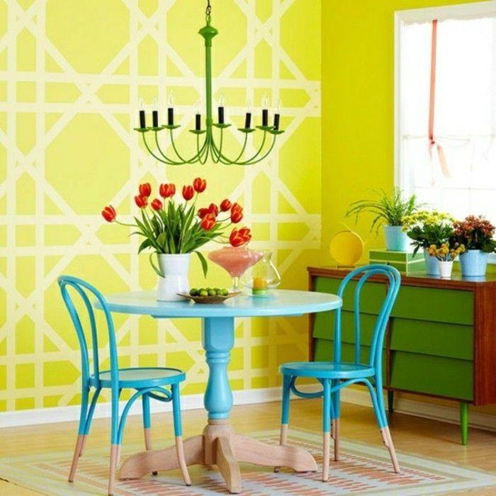 GroBartig Attraktives Modell Esszimmer Wandfarben Ideen Tolles Ambiente