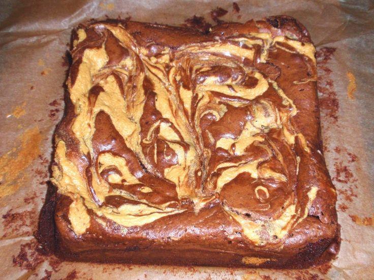 Aneta Goes Yummi: Brownies s arašidovým maslom