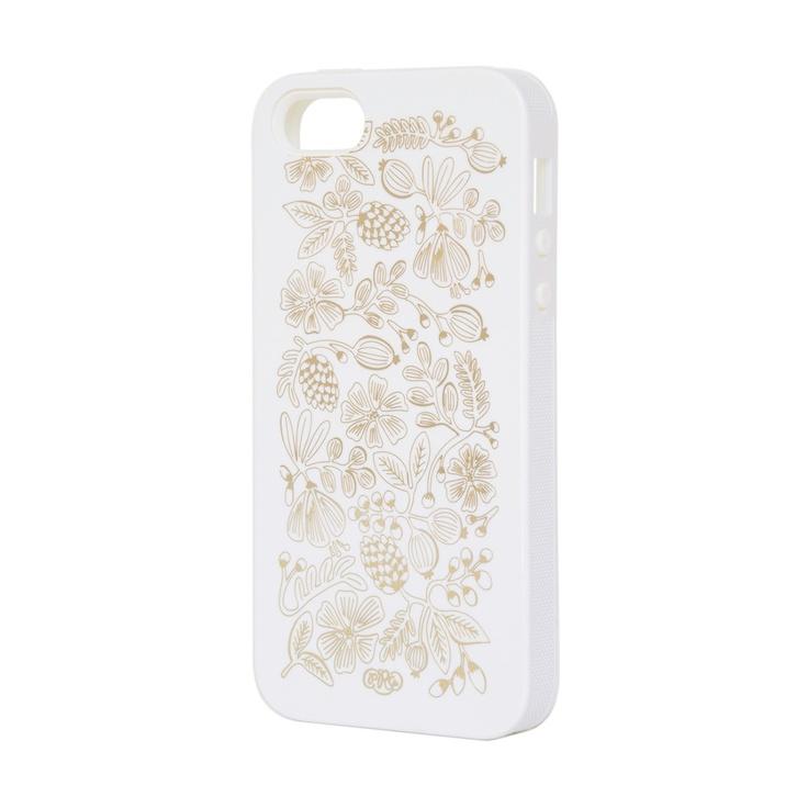 Golden Bouquet iPhone Case by Rifle Paper Co.
