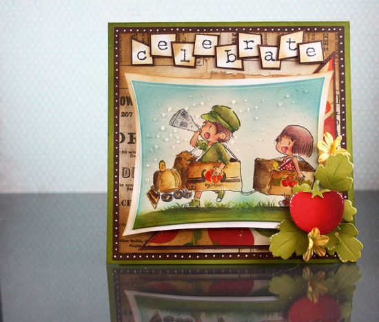 New Dreamerland Crafts Stamps: Box Train Express :: Paper Crafter's Library