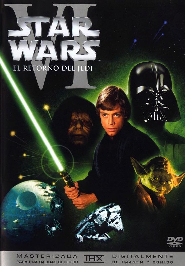 Star Wars: el retorno del Jedi (1983) EEUU. Dir: George Lucas. Ciencia ficción. Aventuras. Películas de culto - DVD CINE 64-III