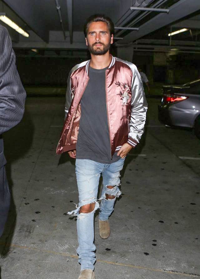 easy ideas for a cool style — STYLE INSPIRATION. Scott Disick's varsity jacket...