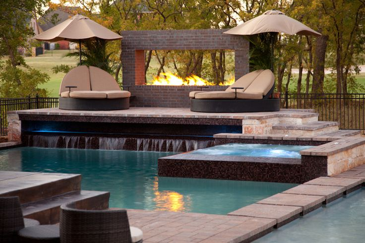 Allenton Custom Homes cool pool!