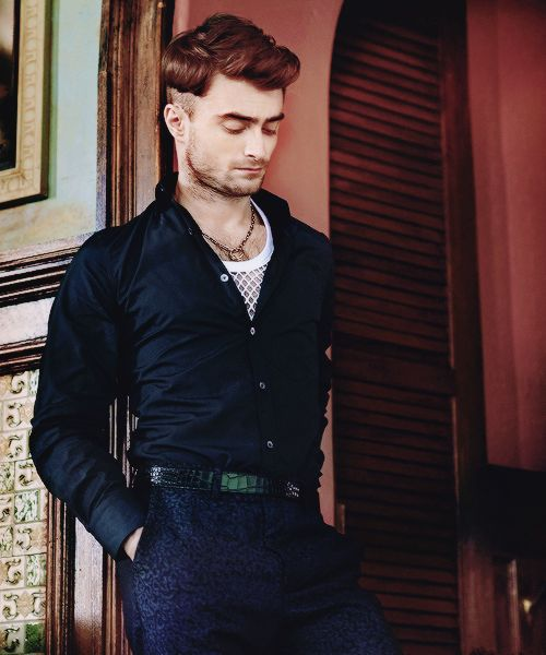 """coolgearcavalier: """"kateordie: """" """" Daniel Radcliffe for 'Essential Homme' Magazine, 2014 """" Y…es """" Get a camel overcoat like that and you will look flawless. For men's style and lifestyle advice check..."""