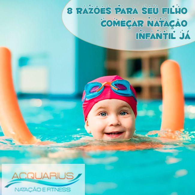 #AcquariusFitness 8 razões para seu filho começar natação infantil já. Vantagens da natação para o organismo.A natação sem dúvida oferece milhões de vantagens para o corpo... Veja mais em http://www.acquariusfitness.com.br/…/8-razoes-para-seu-fil…/ #VamospraPiscinacom SeuFilho #VenhapraAcquariusFitness #FaçaNatacaoInfantil #PratiqueSaude