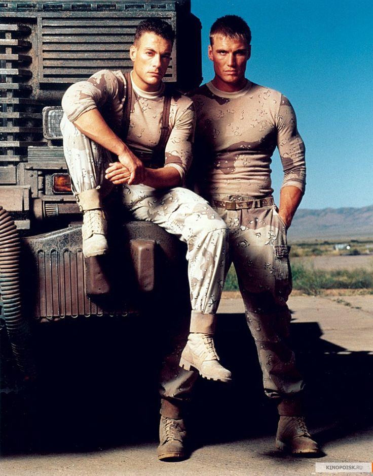 Jean-Claude Van Damme & Dolph Lundgren (Universal Soldier, 1992)