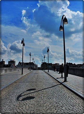 The Old Bridge, known as Sint Servaasbrug, Maastricht.