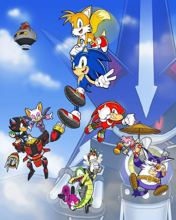 sonic heroes | We're Sonic Heroes' by ~E-122-Psi on deviantART