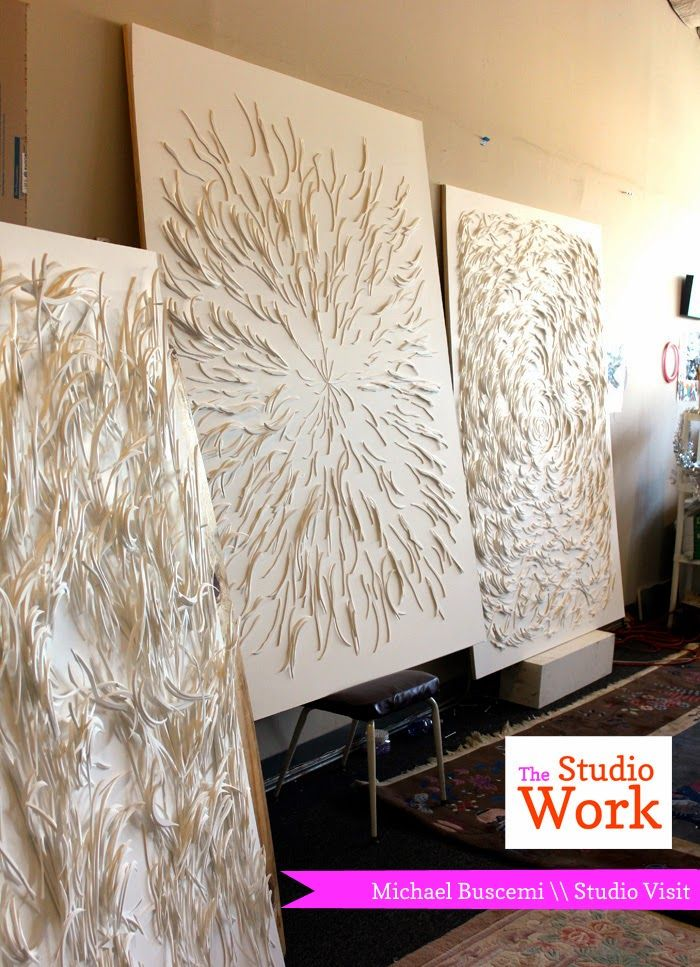 Michael Buscemi \\ Studio Visit | The Studio Work