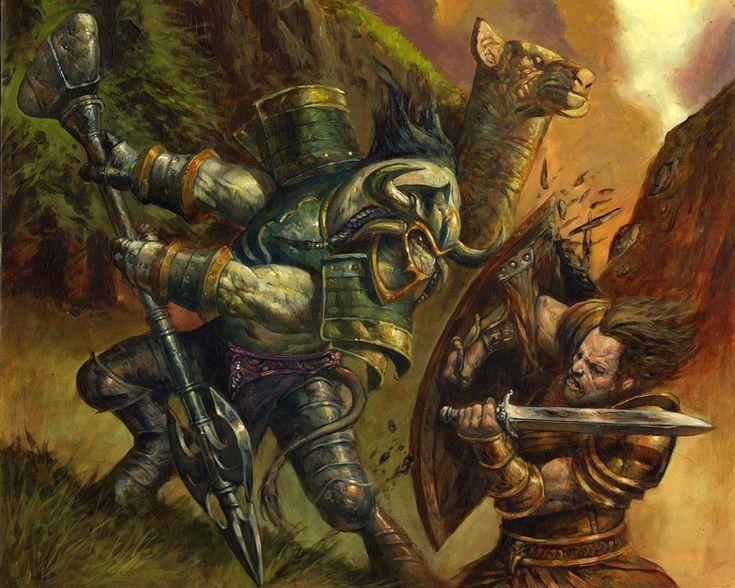 #wowtcg #warcraft #human #humain #tauren #warrior #guerrier