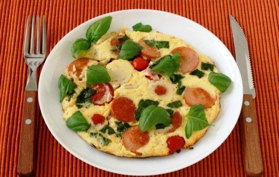 Рецепт омлета с помидорами и колбасой, секреты выбора ингредиентов и