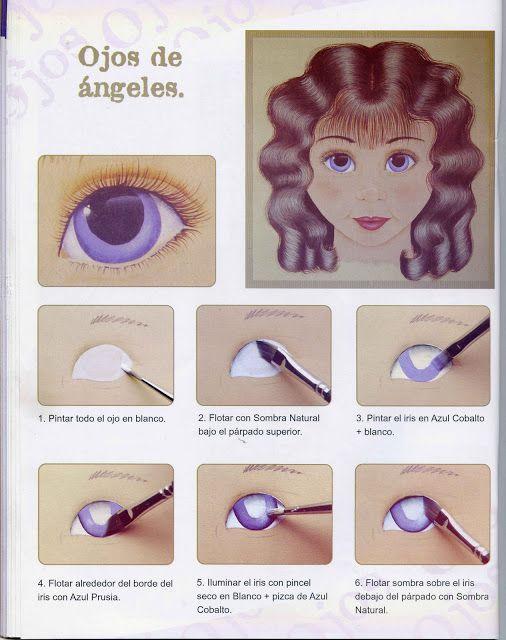 Best 25 pintar ojos ideas on pinterest ojos de mu eca - Plantillas para pintar ...