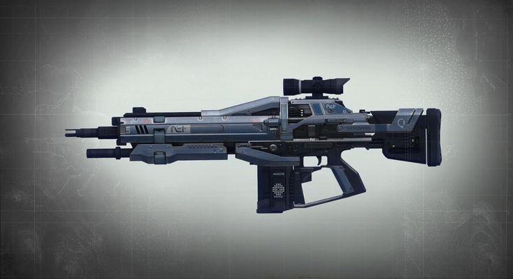 Weapon concept - Game: Destiny https://www.youtube.com/watch?v=STLnckeT944