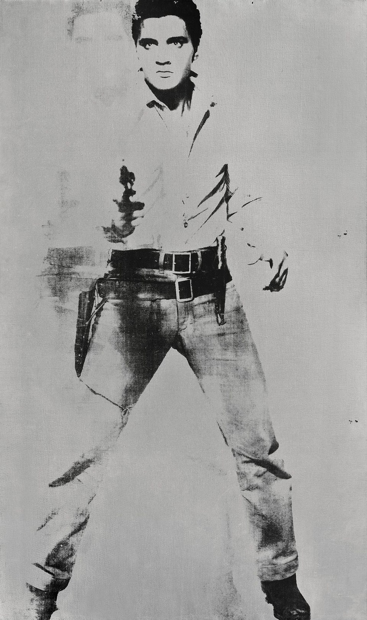"""Double Elvis"", by Andy Warhol."