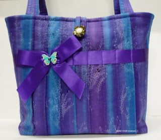 BaRb'n'ShEll Creations-Pin tucked front tote - BaRb