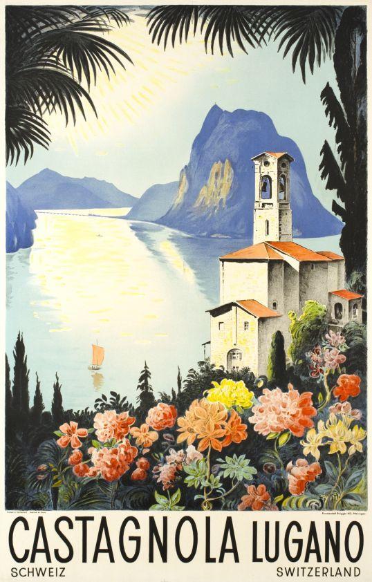 Castagnola, Lugano poster