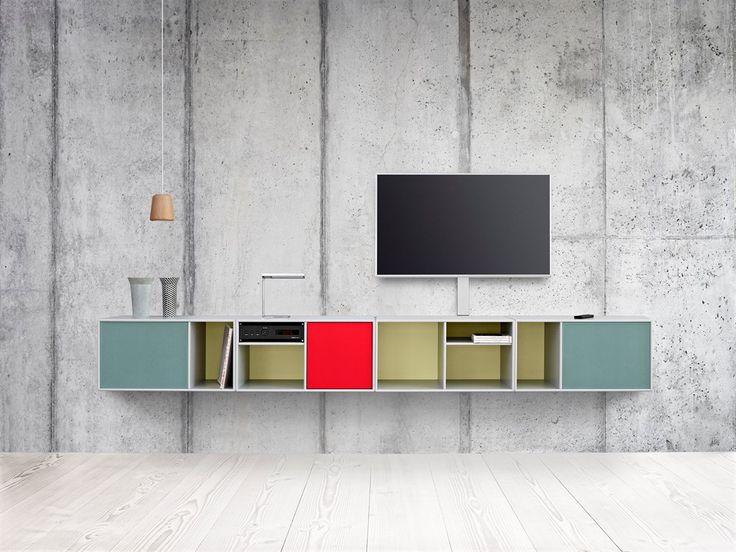 TvHifi shelving system by Montana.  www.mootic.pl