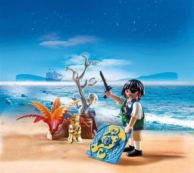 Playmobil Πειρατής Με Χάρτη Θησαυρού (4945) - 7,99