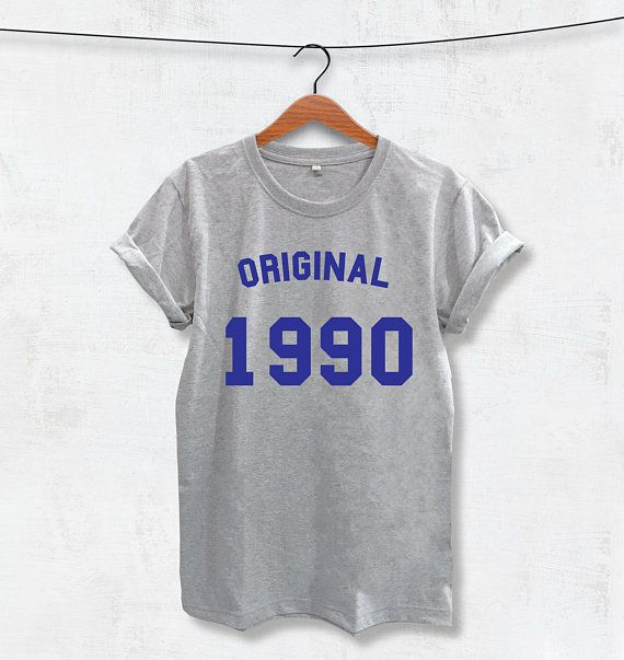 cbda58f7d3 Original 1990 T-Shirt printed   made in 1990   custom   unisex ...