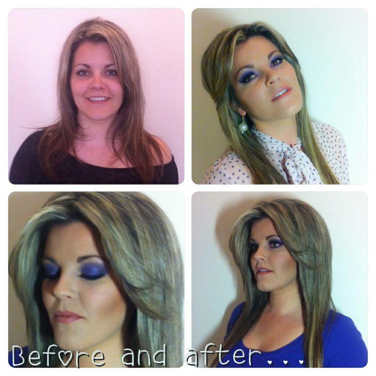 Purple smoky eyes_make up by Tonia Maniati _Make Up Artist