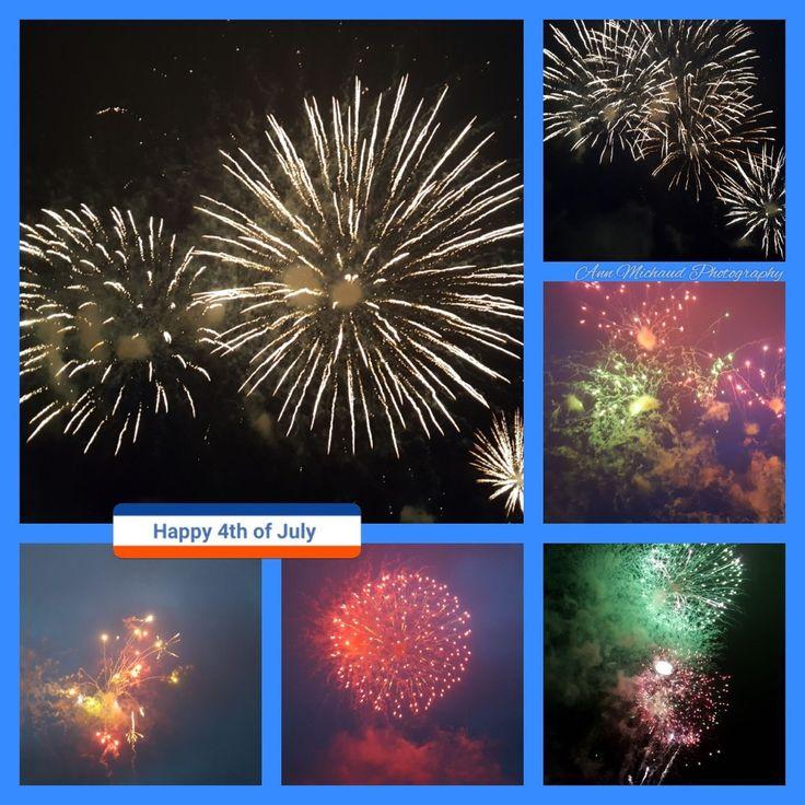 Amazing night ♡  Webster Lake Fireworks  7/1/17