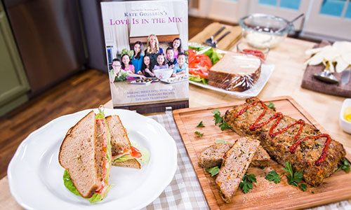 """Kate Gosselin's Hearty Meatloaf Recipe from """"Love is in the Mix"""""""