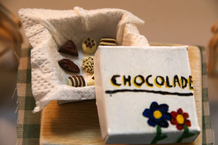 Chocolate box - polymer clay