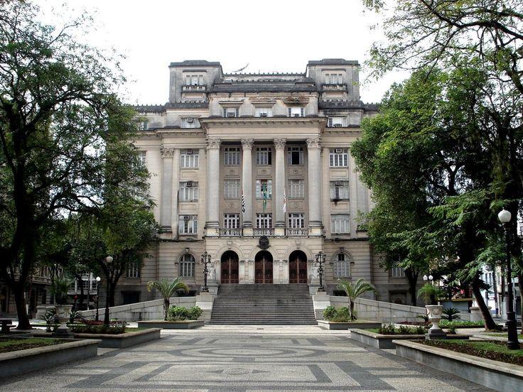Paco Municipal  de Santos - Palacio Jose Bonifacio - Santos - Sao Paulo