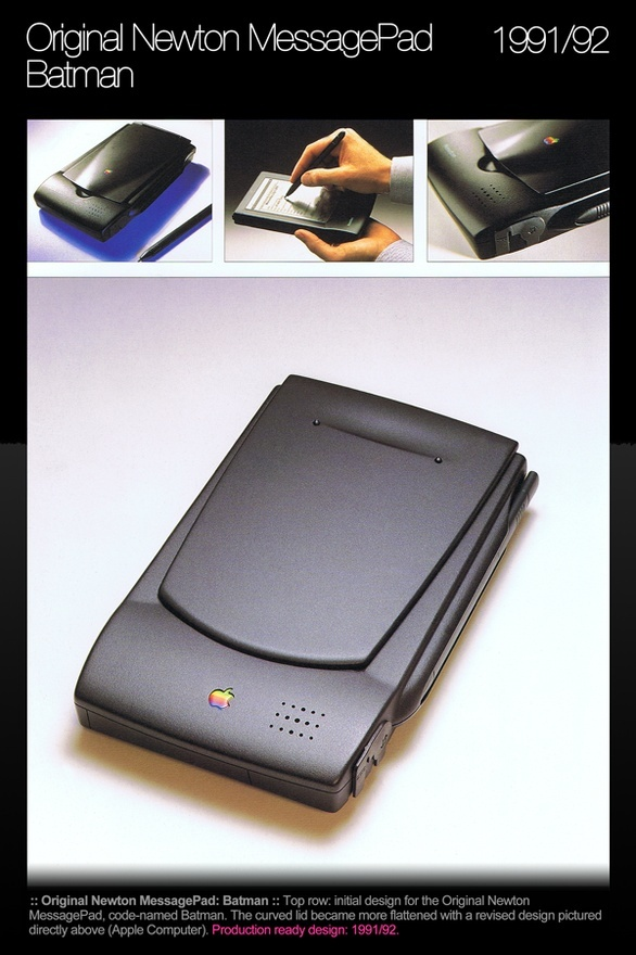 Apple Tablet - Original Newton MessagePad - Batman   Apple Computer 1991-1992 jyeesf