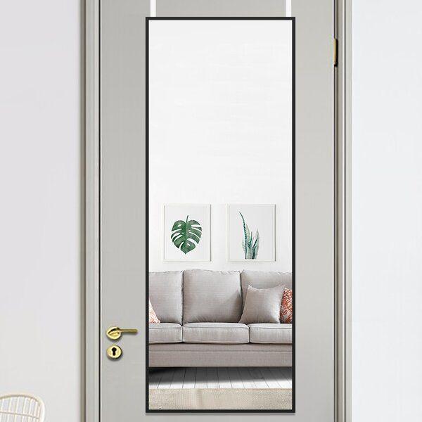 Full Length Over The Door Mirror, Door Mount Mirror Full Length