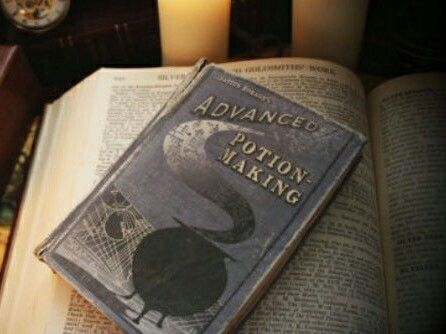 Harry Potter potions book