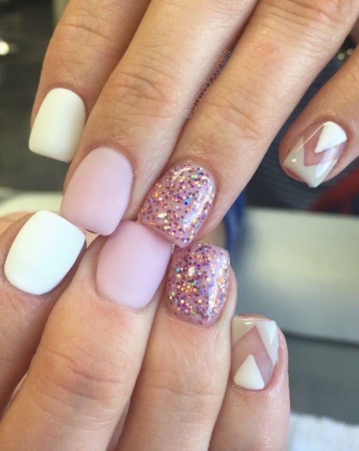 12 Nail Ideas Pink Girly Cute Gel Nails Short Acrylic Nails Trendy Nails