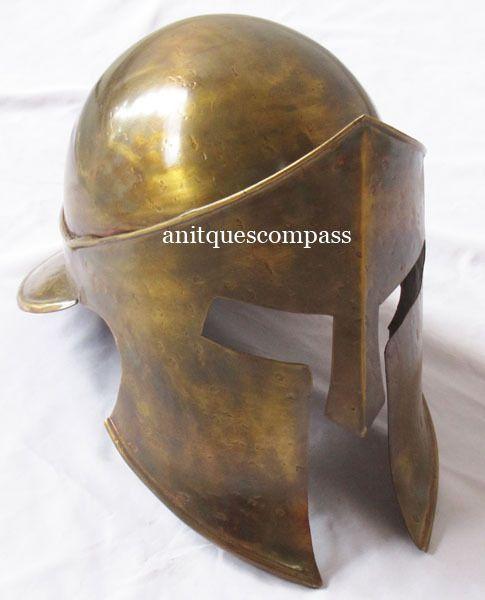 Wearable Medieval Armour Spartan 300 Helmet Movie Replica Costume Prop Replica