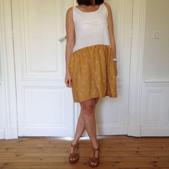 Aime comme Mistral / tissu atelier brunette