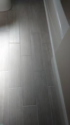 Leonia Silver Glazed Porcelain Indoor Outdoor Floor Tile Common 6 In X 24 Actual 5 75 23 At Lowes House Ideas Pinterest