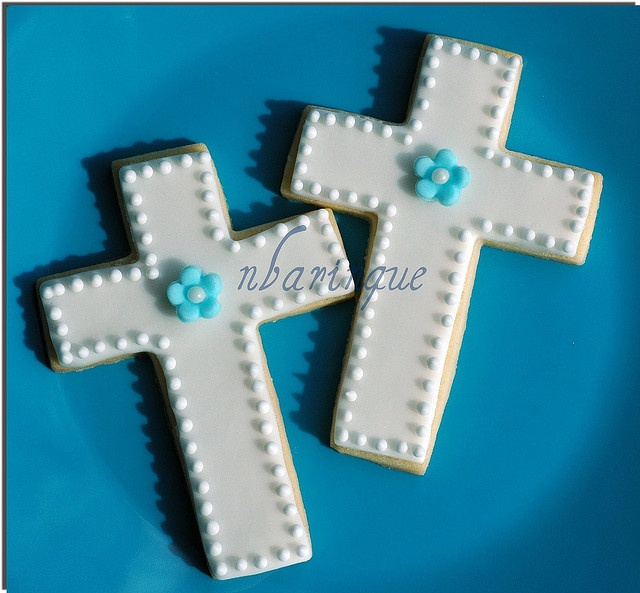 Favors for baby Christian's baptism