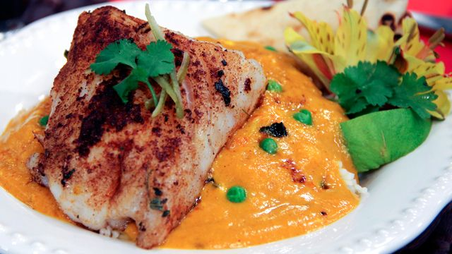 Cod and Mango Sour Cream Curry by Chef Vikram Vij
