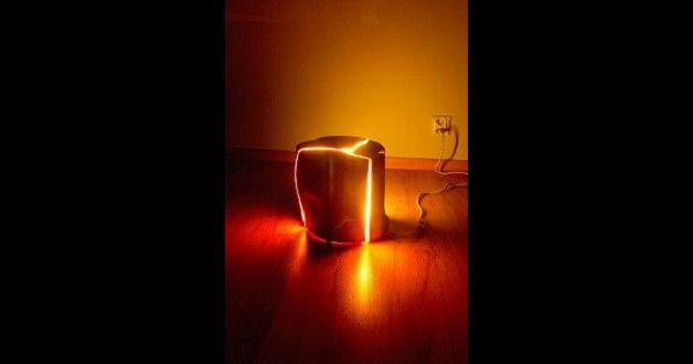 lampy z drewna - PracowniaArtystycznaFORM - Lampy podłogowe