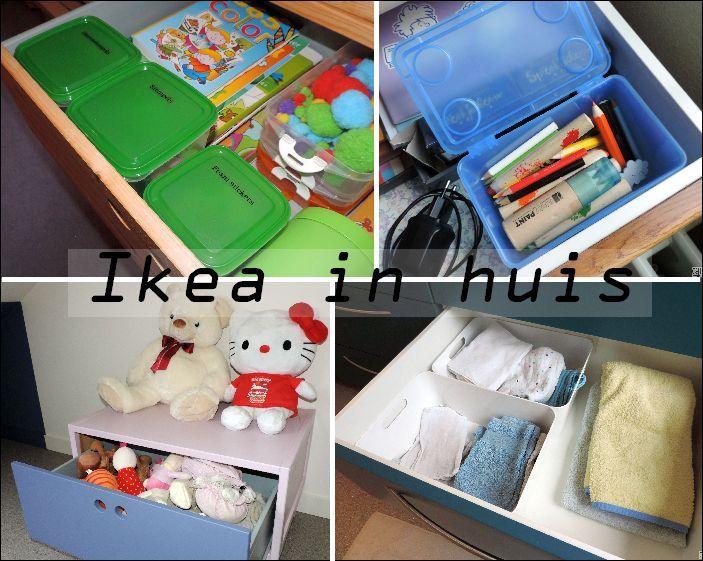 Georganiseerd blijven met Ikea *Organiseer en Heers*