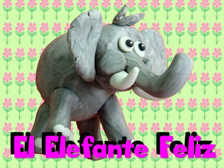 elefante en plastilina