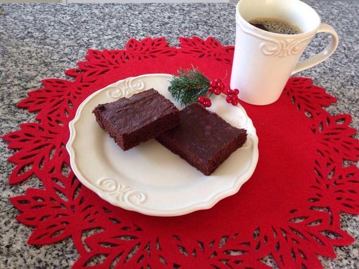 Nuevo brownie de chocolate libre de gluten-leche-huevo-soya-colorante-......