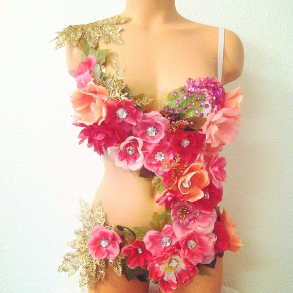 Wow!!  Pink Fairy of the Forest Outfit  by TheLoveShackk on Etsy--Designer is the daughter of one of my friends :)  She is super talented!