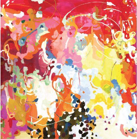 Michelle Armas.: Living Rooms, Canvas Prints, Antonia Prints, One King Lane, Abstract Art, Bohemian Bedrooms, Michele Arma, Bright Colors, Michelle Arma