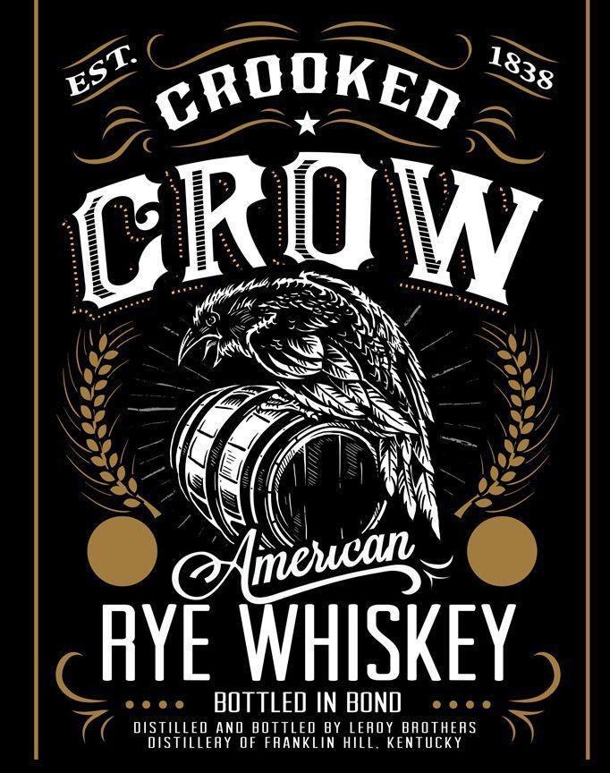 Crow illustration web