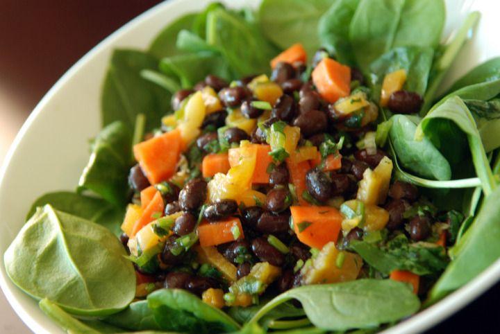 Black Bean, Cilantro and Apricot Salad | Black Beans, Cilantro and ...